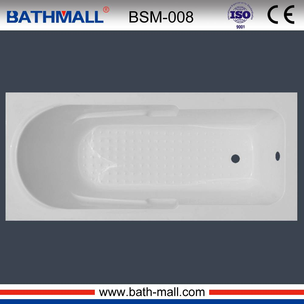 High quality white bathtub tub with customized service