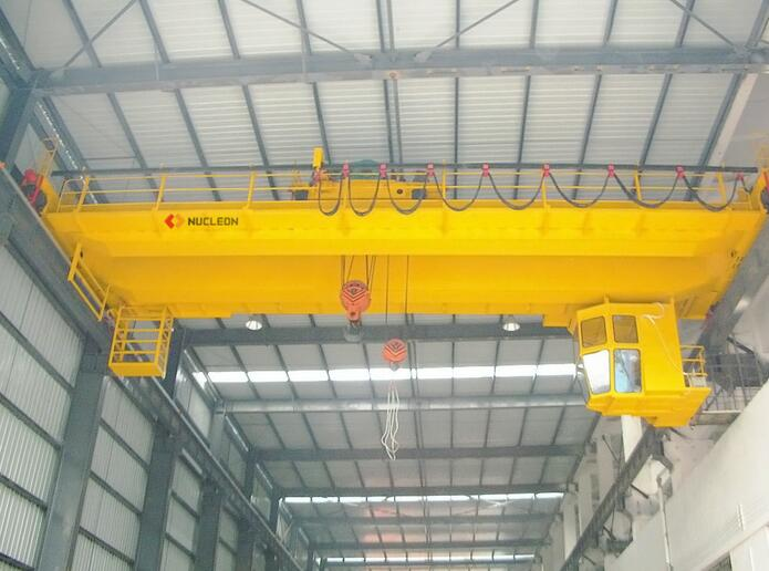 High quality Electric Double Girder Overhead Bridge Crane 30 ton, 35 ton, 50 ton