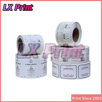 Sticker Printing, Custom Private Label, Wholesale Sticker Label