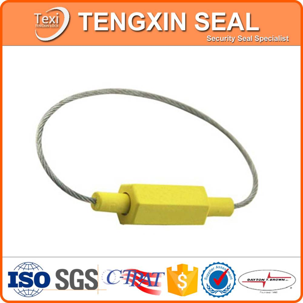 alibaba cargo truck door lock aluminum and alloy cable seal