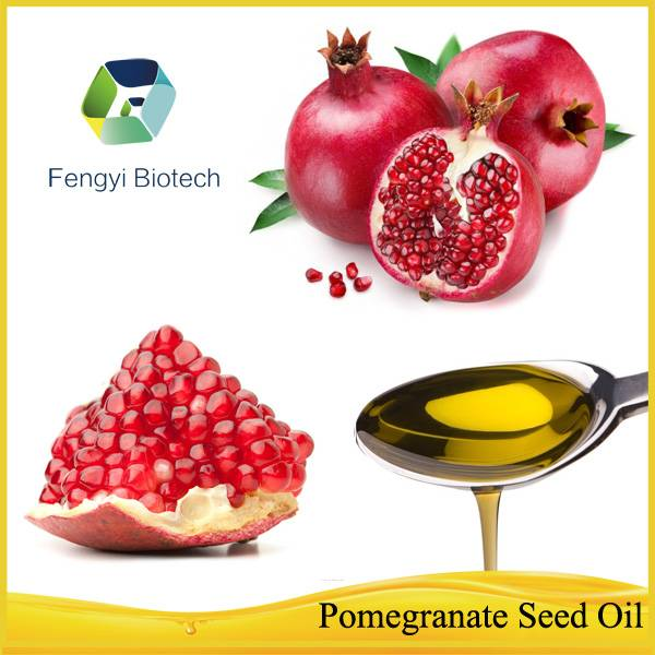Cold Pressed Natural Organic Pure Pomegranate Seed Oil