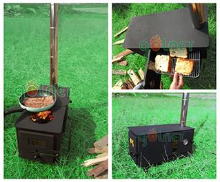 camping oven stove