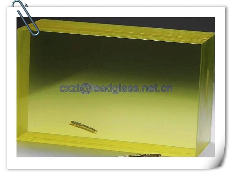 ZF3 xray shielding glass for hospital radiation