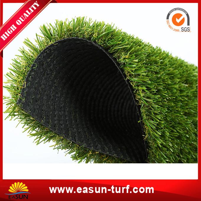 China PE Monofilament Cheap Durable Green Fake Grass Carpet -AL