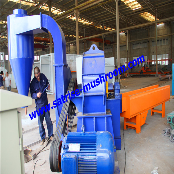 professional small hammer mill/mushrom substrate grinder/corn crusher for sale