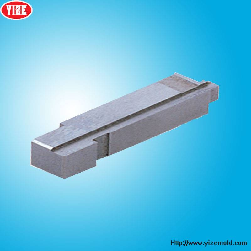 China plastic mould components machining plastic ejector mould part