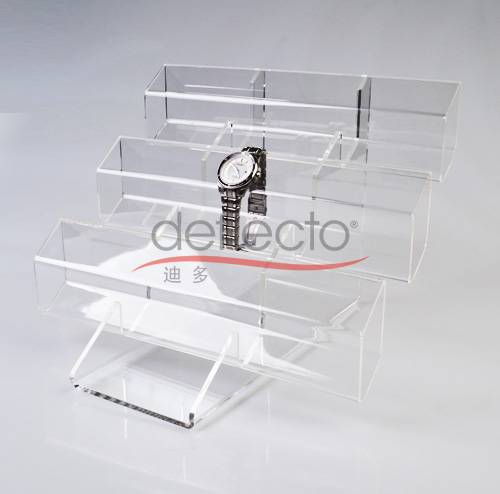 3-tier Display Rack Holder Stand