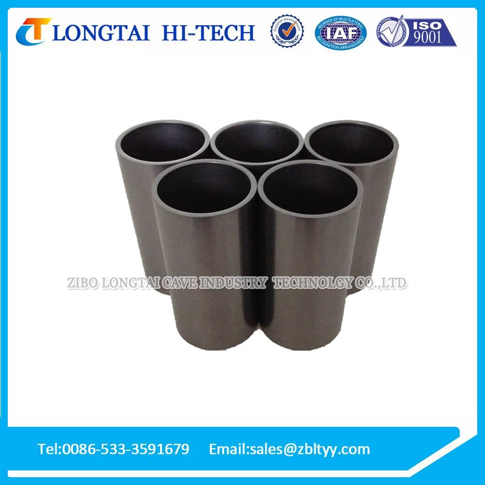 High temperature graphite crucible for melting metal aluminium