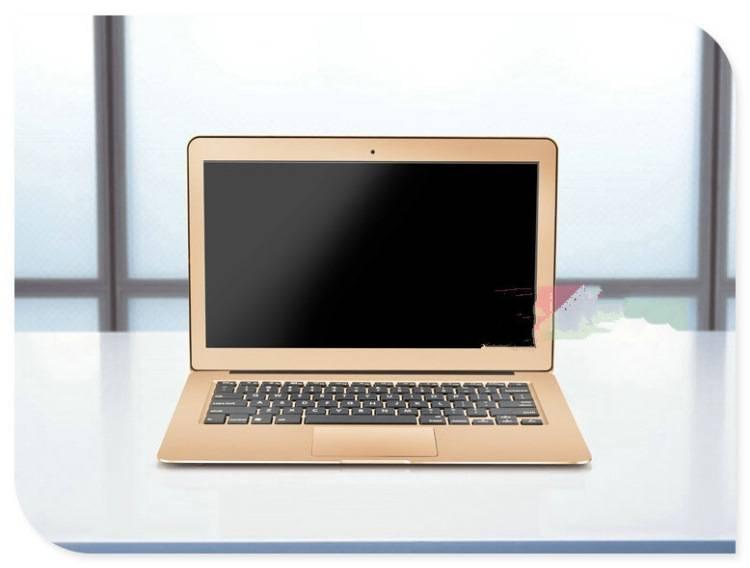 13.3 inch silver notebook i7 5500u laptop desktop computer Windows10 8g ram 256g ssd