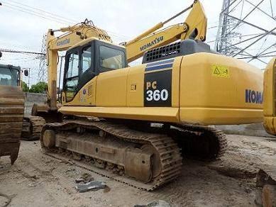 Used Komatsu PC360 Tracked Excavator