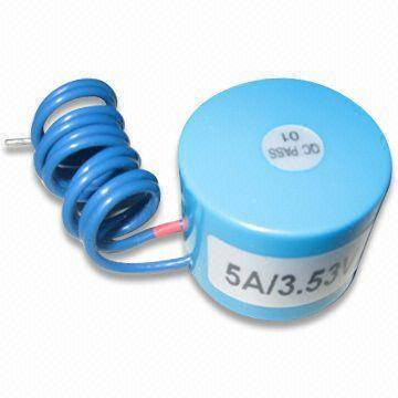 Low Profile Current Transformer with High-permeability Permalloy