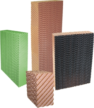 Evaporative Cooling Cellulose Pad