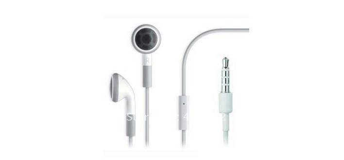 Earphones For iPod ,Mp3 with perfect bass mp3 Headphone MA662 50pcs/lot