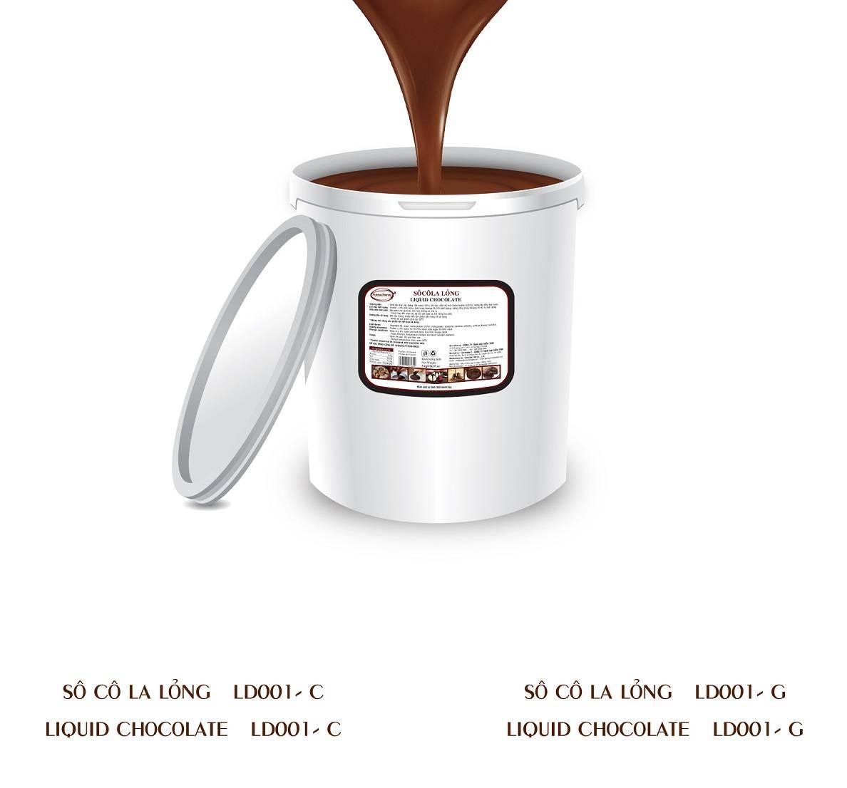 GANAFARM LIQUID CHOCOLATE 5KG
