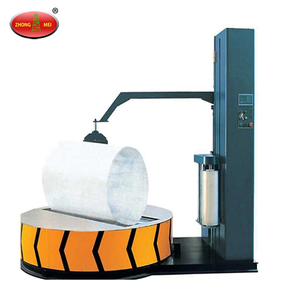 Warehouse pallet/carton stretch film pallet wrapping packing machine
