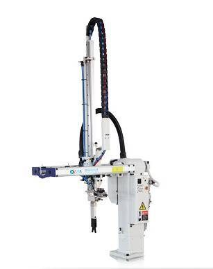 swing arm robot arm for injection molding machine