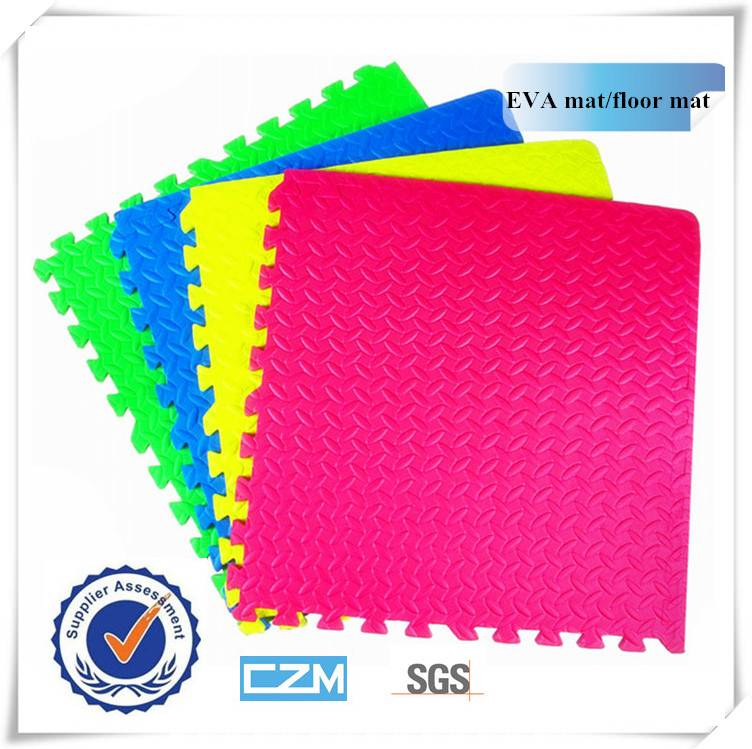New Fashion Wholesale EVA Foam Interlocking Play Mat