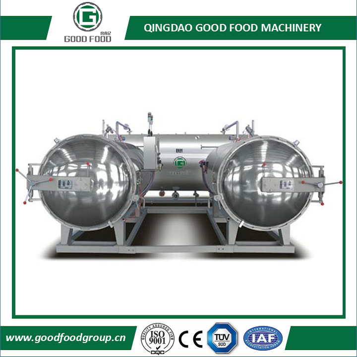Three pot series Water Immersion Retort/Sterilization Retort/Sterilizing/Autoclave sterilizer
