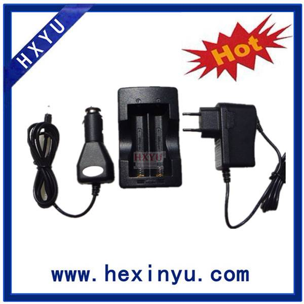 Dual charger for 18650 Lithium ion batteries