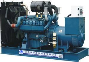 Doosan Diesel Generator Set Generating Machine Power Plant Fuel Generator Set