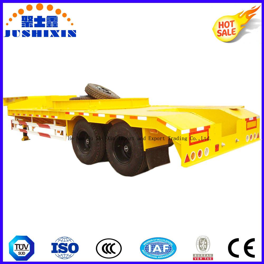 CCC ISO Approved 2 Axle Container/Utility Trailer Skeleton Semitrailer