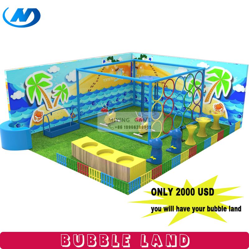 2018 bubble land kids soft play equipment factory custom made