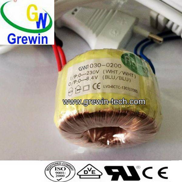miniature toroidal transformer for solar inverter range 3.2va To 25va