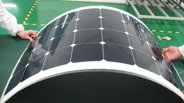 Simi flexible soalr panel 100W with sunpower in China