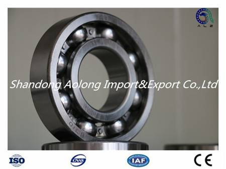 High precision stainless steel deep groove ball bearing 6210