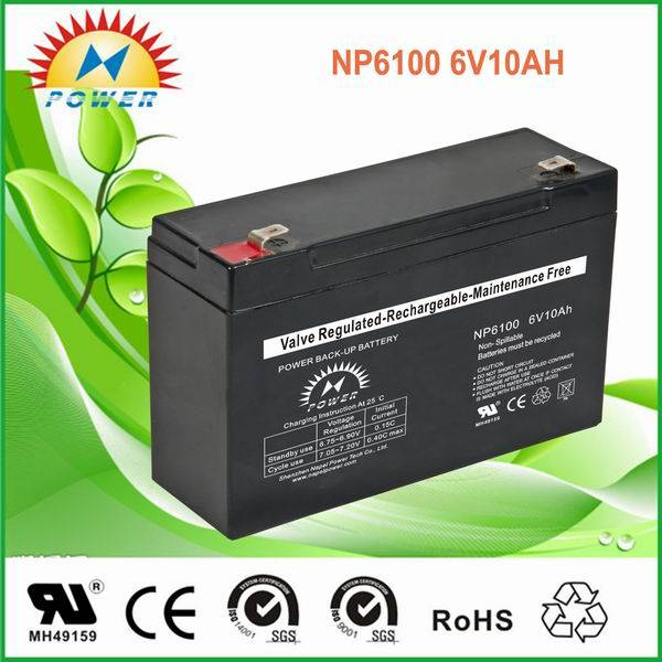 lead acid /sealed /ups/solar/ battery6V10Ah