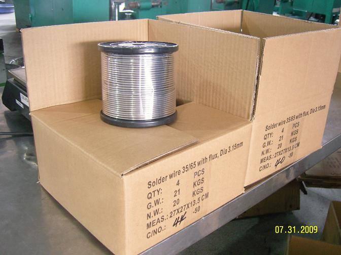 Nichel soldering wire