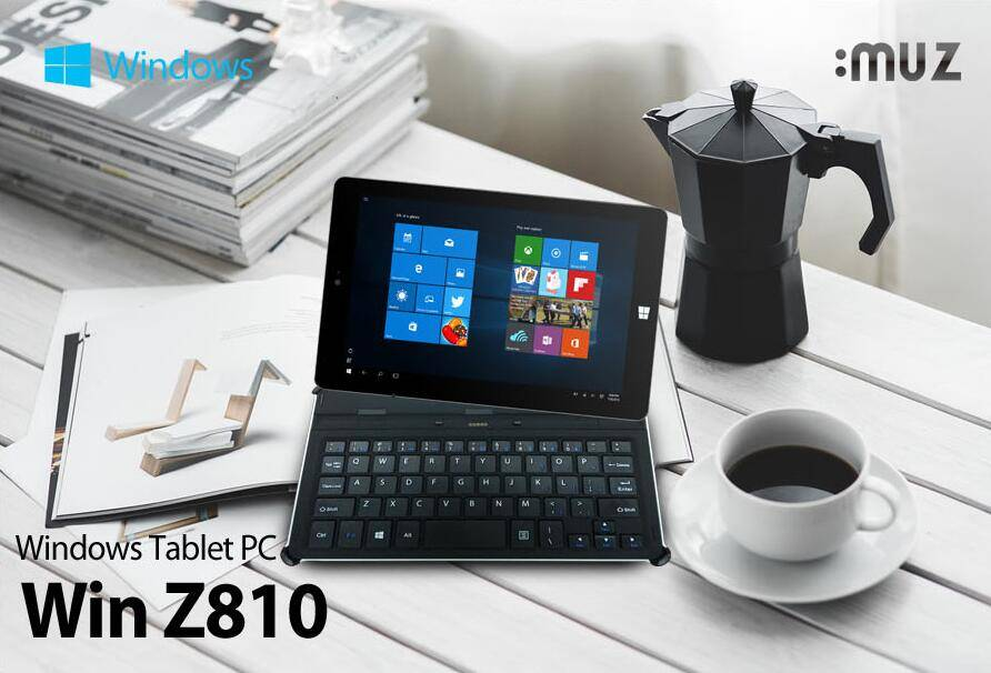 "8.0""inch windows Tablet PC With Keyboard"