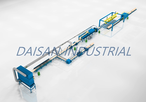 Mineral/Glass wool panel production line