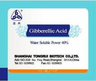 Gibberellic Acid 40%Water Soluble Granul
