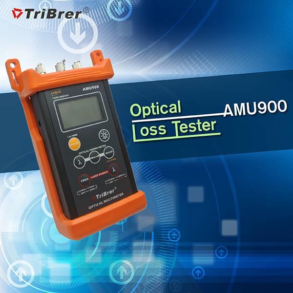 Optical MultiMeter , Optical Loss Tester Tribrer Brand AMU900,fiber multimeter
