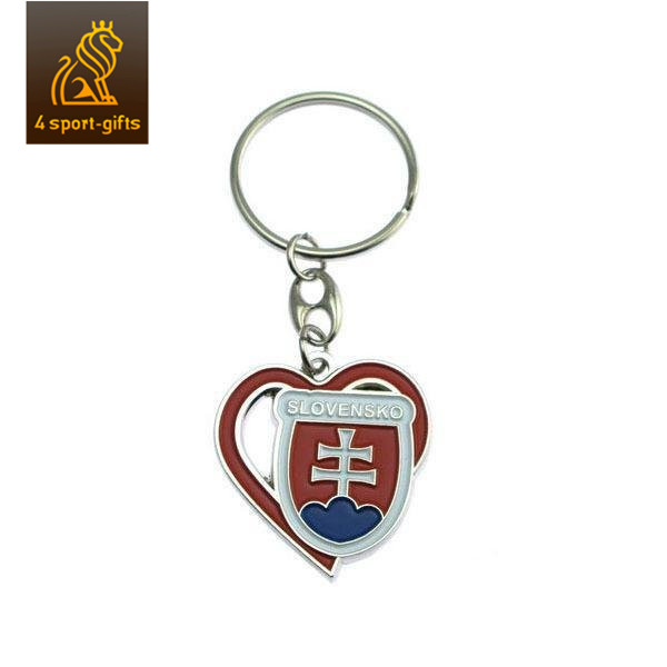 sonier-pins custom soft enamel cartoon keychain with ring
