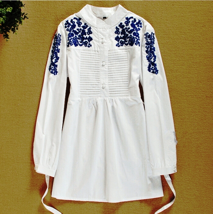 Embroidery Ladies Shirts