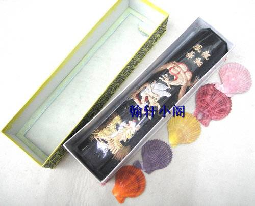 Chinese traditional ink sticks Solid inks Anhui  calligraphy ink long xiang feng wu  IS001