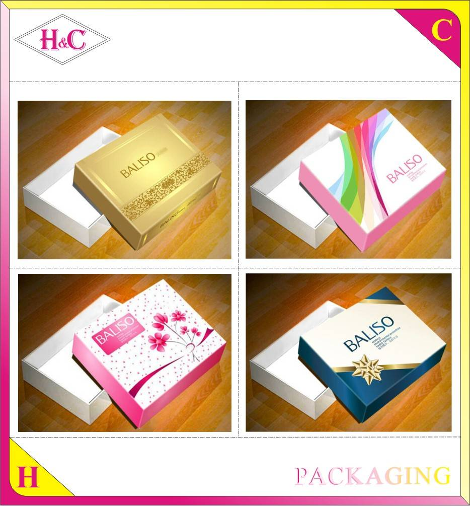 Custom wholesale high quality cardboard magnetic paper box