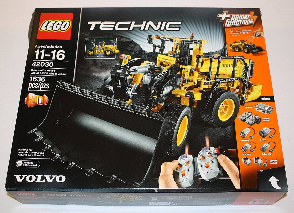 Ongebruikt Lego 42030 Technic Remote-Controlled VOLVO L350F Wheel Loader Set OO-82