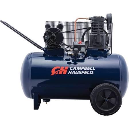 Campbell Hausfeld Portable Electric Air Compressor - 10.2 CFM, 3.2 HP, 30-Gallon Horizontal