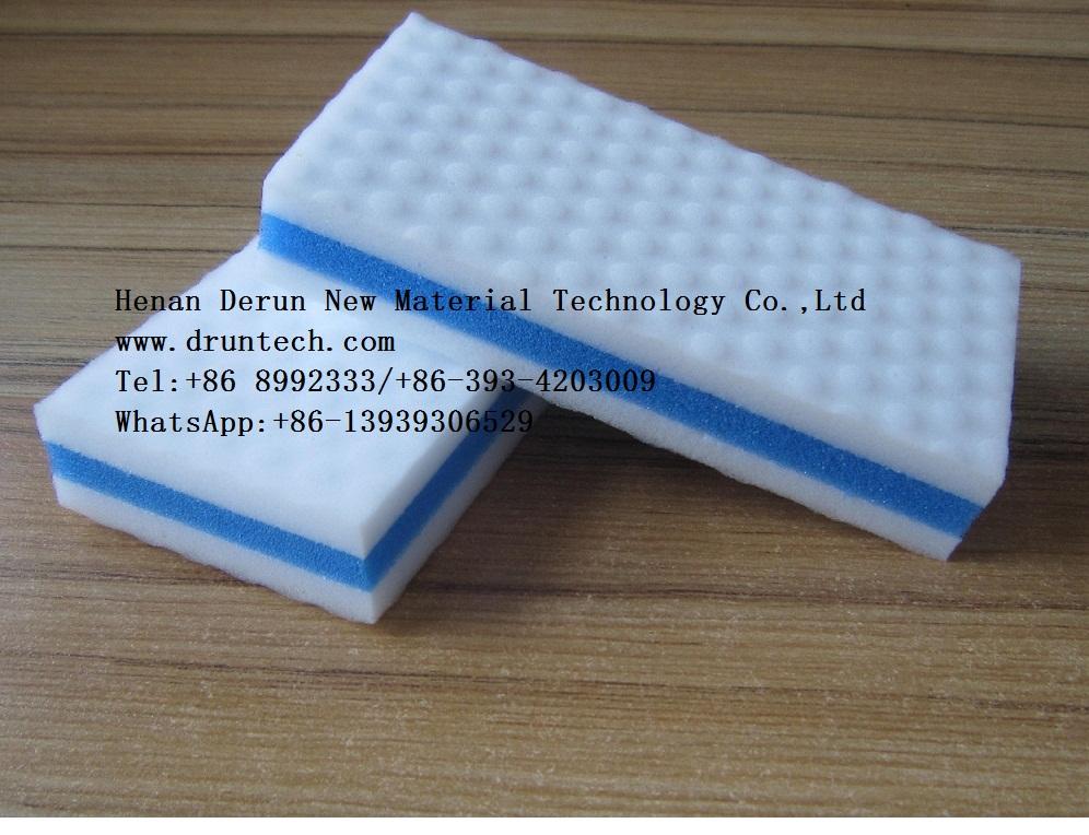 Derun Melamine foam Magic eraser sponge Samples free