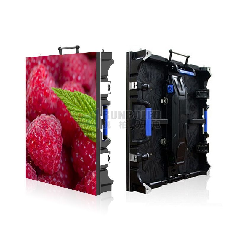 P3.91 Indoor 90 Degree Installation High Refresh Indoor Mobile LED Screen for Sound Events