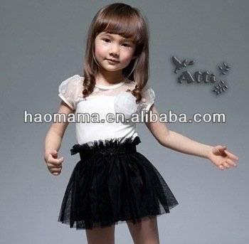 Fashion Baby Dress,White Black Style.New Design