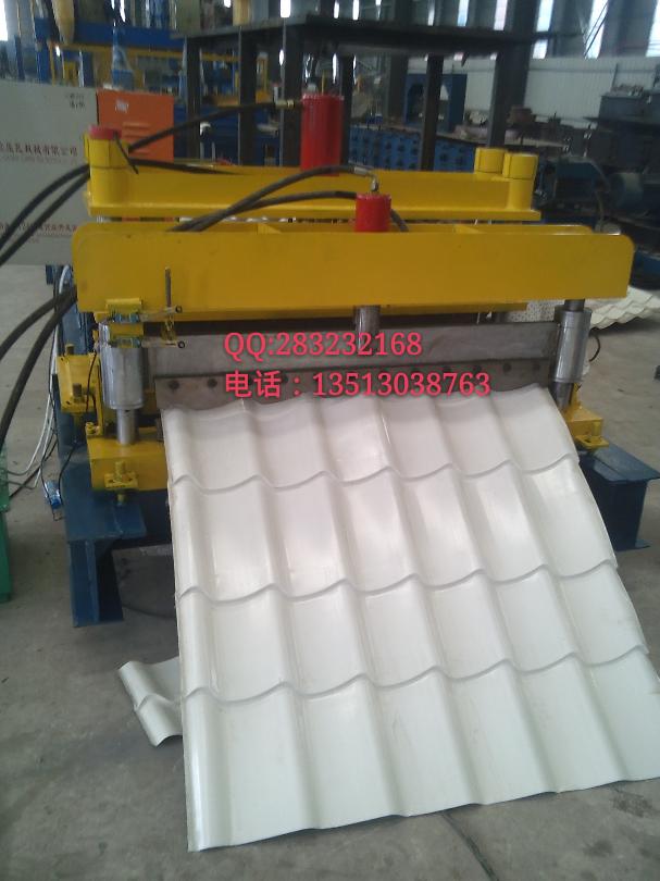1100 Arc Bias Glazed Tile Forming Machine