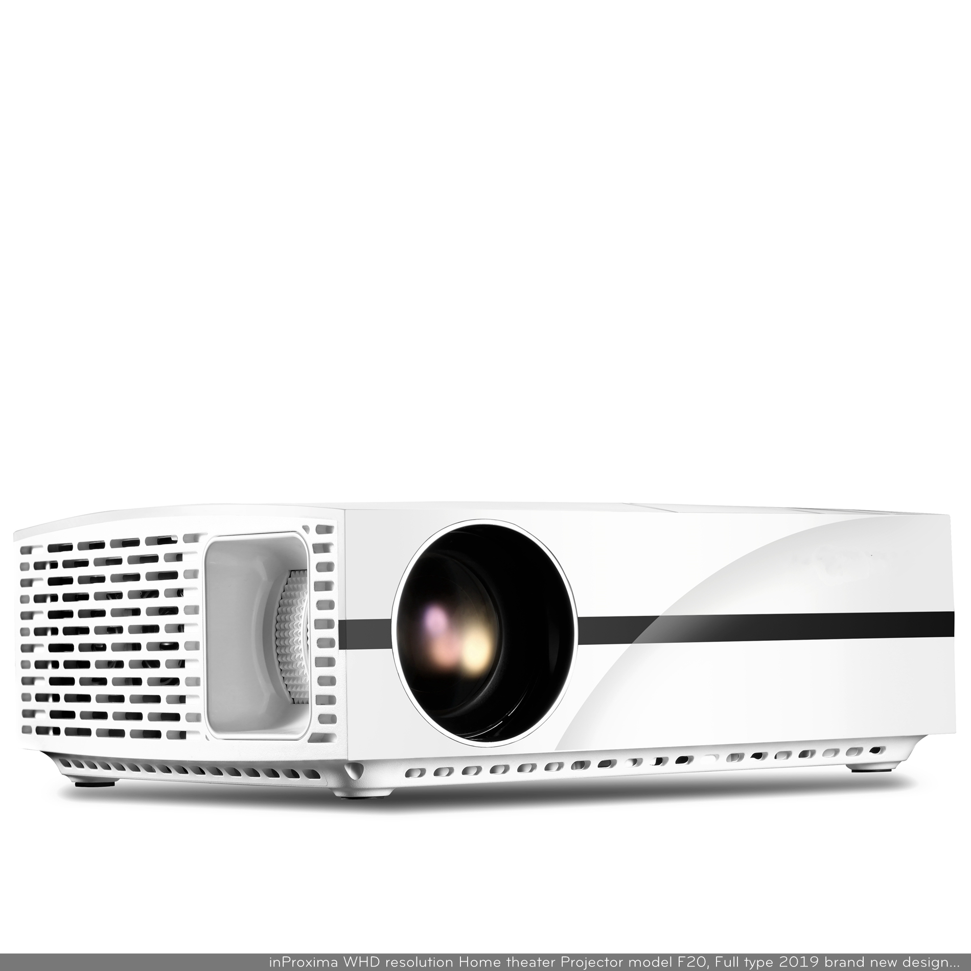 inProxima 2019 New F20UP Full HD 1200800P LED LCD Smart Home Cinema Projector with Wifi