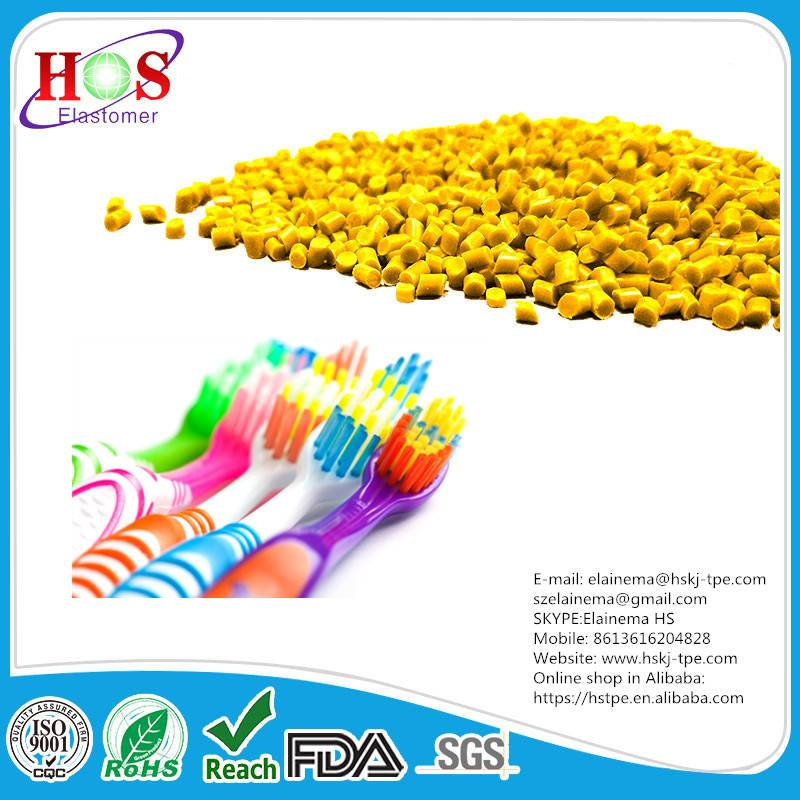 TPE/Thermoplastic Elastomer/TPE resin / tpe granules for toothbrushes
