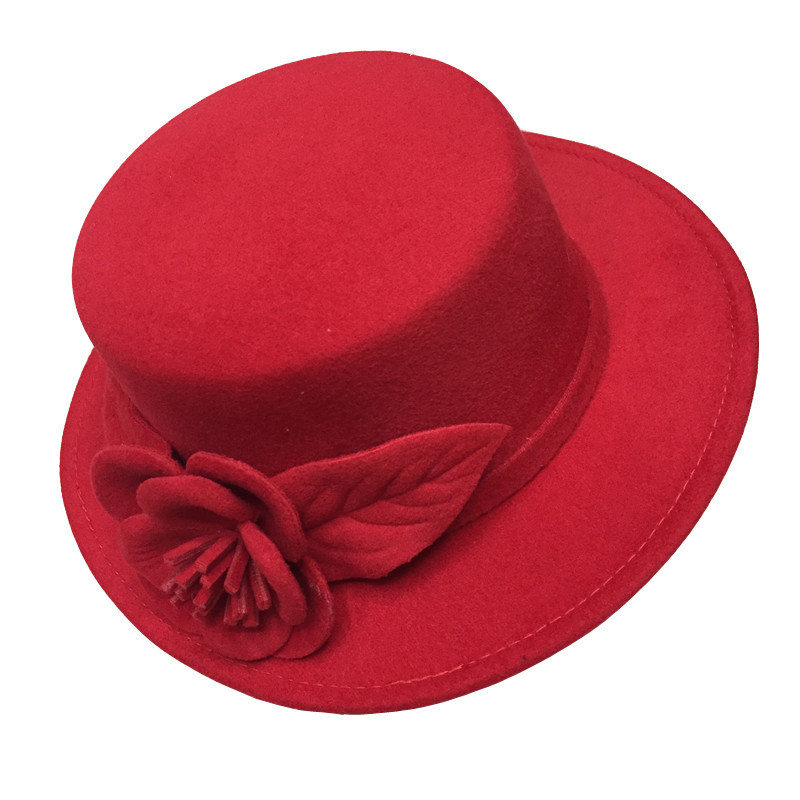 new style fashion sweet girl bowler hat