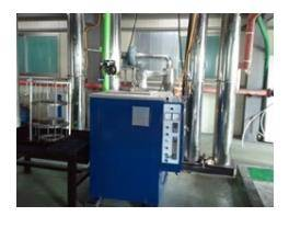 Industrial Fluidized Bed Cleaning System