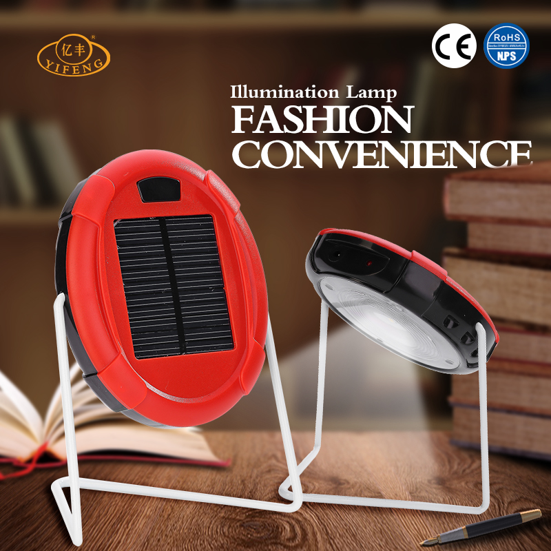 YiFeng YF-170 Hot-selling Rechargeable Solar Study Table Lamp
